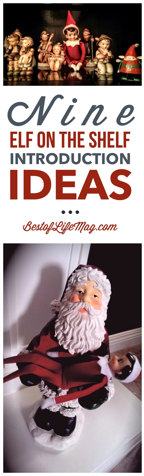 These Elf on the Shelf introduction ideas are creative and fun! Plus they are perfect for all ages!