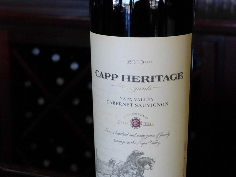 Capp Heritage Wines Taste Downtown Napa