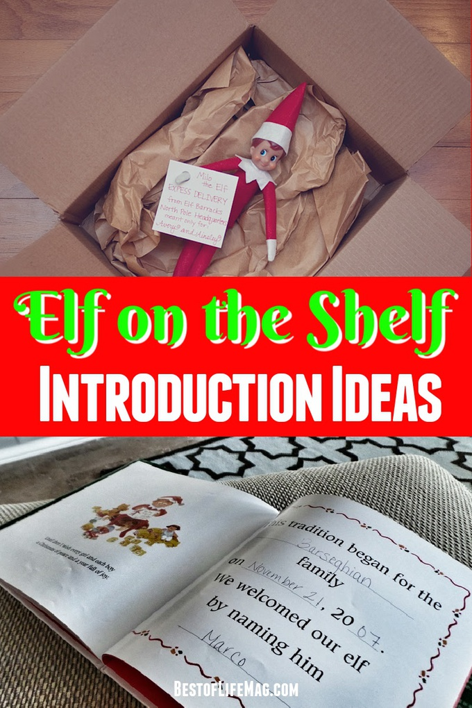 It is never too late to start Elf on the Shelf. These Elf introduction ideas are creative and fun! Plus, they are perfect for all ages! Elf on the Shelf Introduction Ideas | Elf on the Shelf Introduction Letter | Elf Introduction Toddler | Elf on the Shelf Ideas Kids | Christmas Ideas for Kids | Holiday Ideas for Families | Fun Christmas Ideas | Elf on The Shelf Tips #elfontheshelf #intro via @amybarseghian