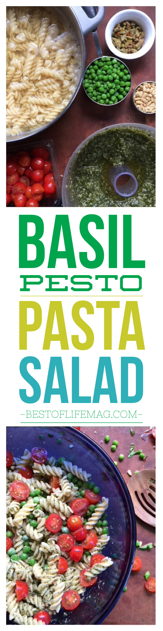 Yes, this really is the PERFECT pesto pasta salad to make anytime of the year. The colors are beautiful and the flavors please the palate. via @amybarseghian