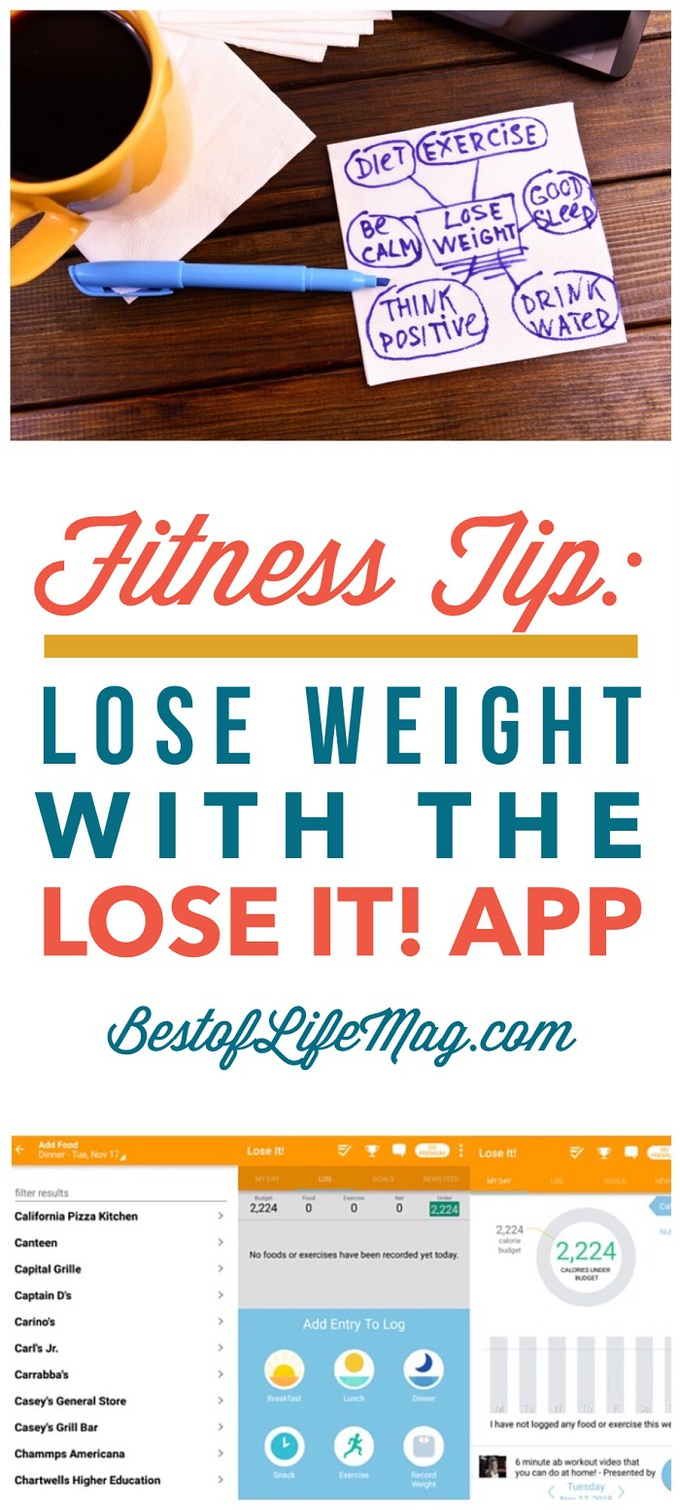 Lose It! App Review - Lose Weight and Be Healthy - The Best of Life ...