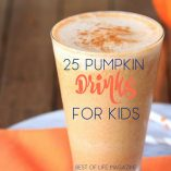 Pumpkin drinks for kids are perfect for fall and Halloween parties and kids love making them on their own! Fall Recipes | Halloween Drinks | Fall Recipes for Kids | Recipes for Kids | Pumpkin Recipes | Halloween Recipes | Things to do with Kids