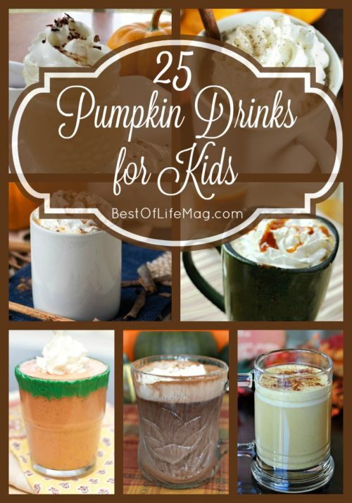 Pumpkin Drinks for Kids they Will LOVE