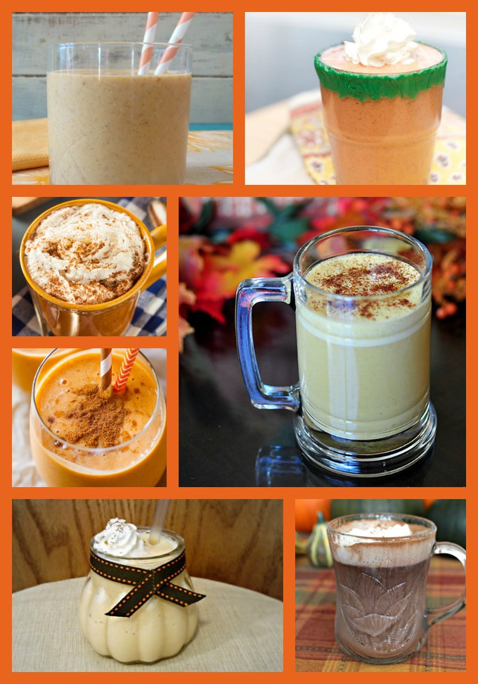 pumpkin drinks for kids that are perfect for fall and halloween parties and kids love making