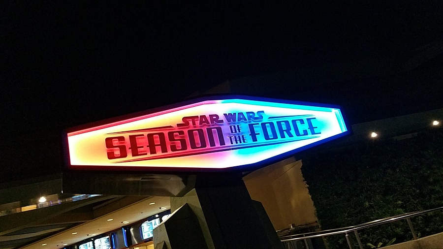 Star Wars Season of the Force at Disneyland