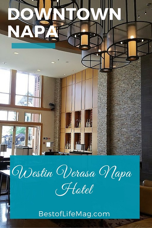 Westin Verasa Napa Hotel - Amenities with Boutique Service