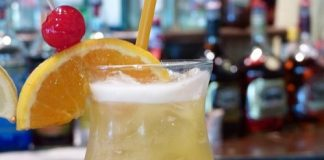 Yellow Bird Rum Cocktail from Beaches Resorts