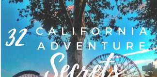 Keep your eyes open and look for these 32 Disney California Adventure secrets because that's where the true magic lies. Disney Travel | Disneyland Travel | California Adventure Park | Disneyland Secrets | Disney Secrets | Disney Easter Eggs