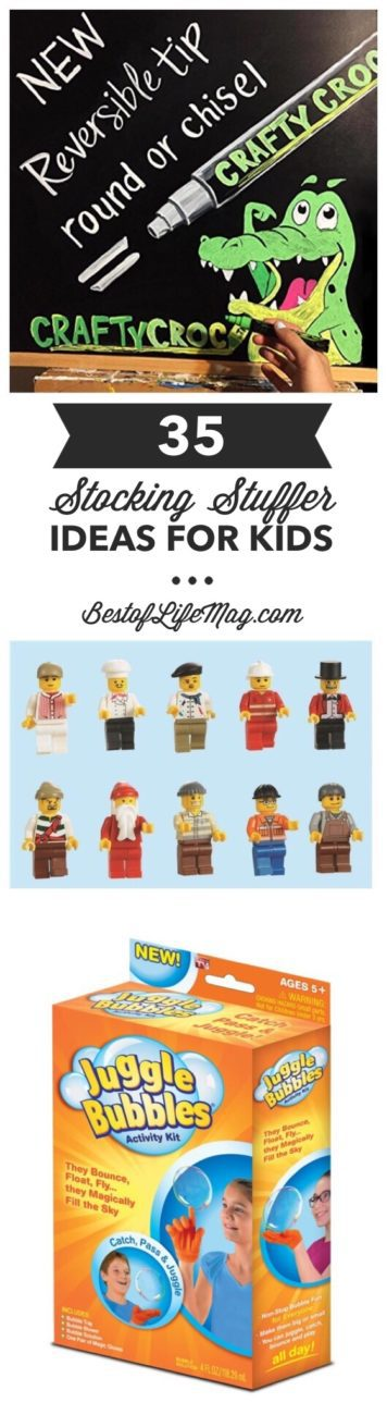 35 Stocking Stuffer Ideas for Kids
