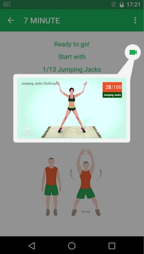 7 Minute Workout App Videos