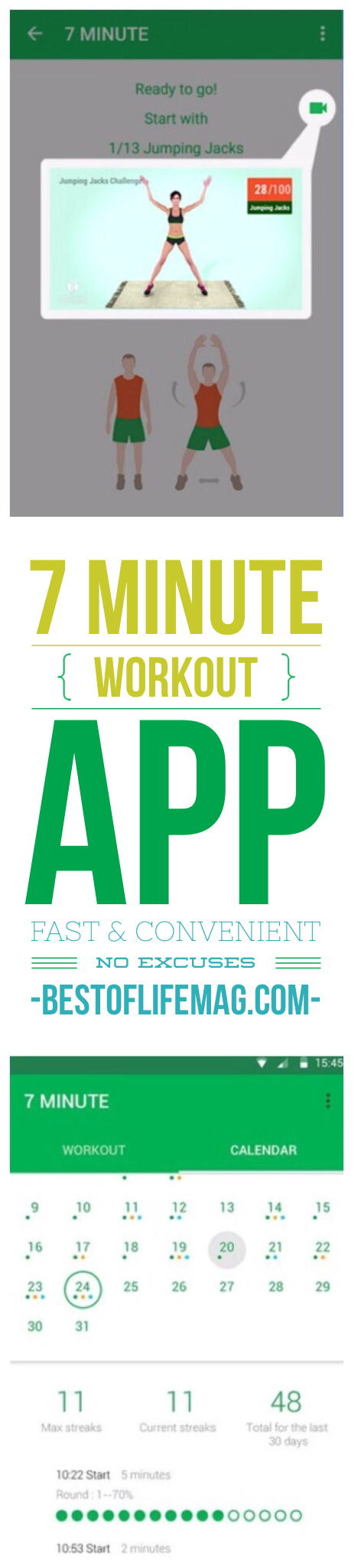 7 Minute Workout App to Lose Weight