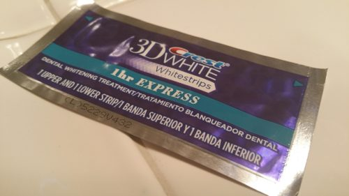 Crest Whitestrips 1 Hour Express Teeth Whitening packets
