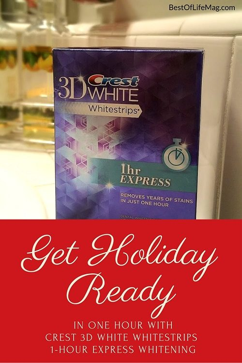 Get Holiday Ready with Crest Whitestrips