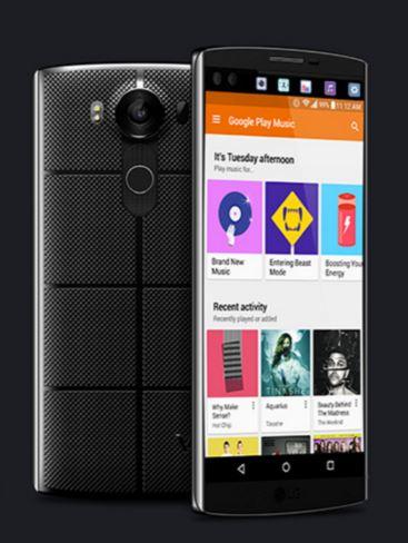 LG V10 Consumer Electronics Show