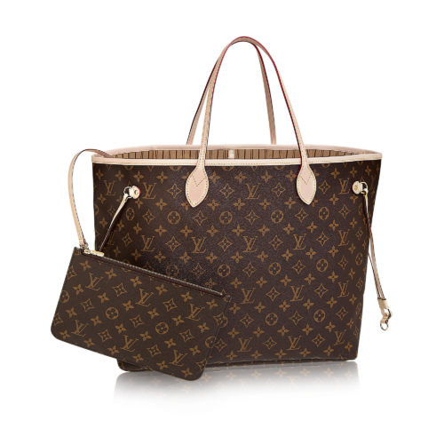 Louis Vuitton Neverfull GM for the Consumer Electronics Show