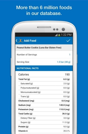 My Fitness Pal App Food Database