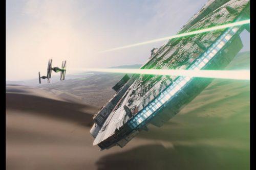 Star Wars Fighting the force awakens spoilers
