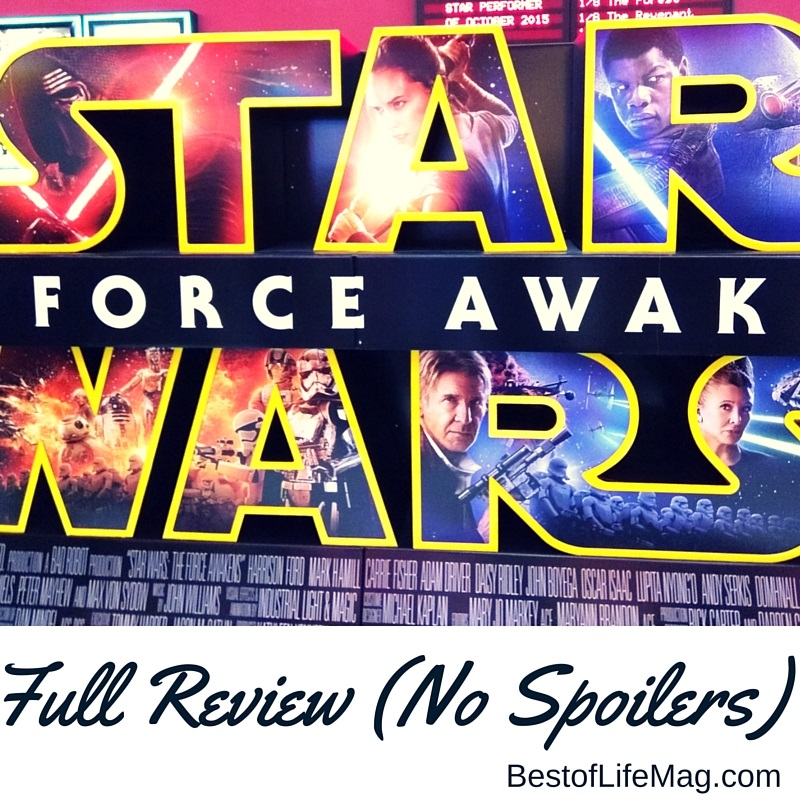Star Wars The Force Awakens Review No Spoilers