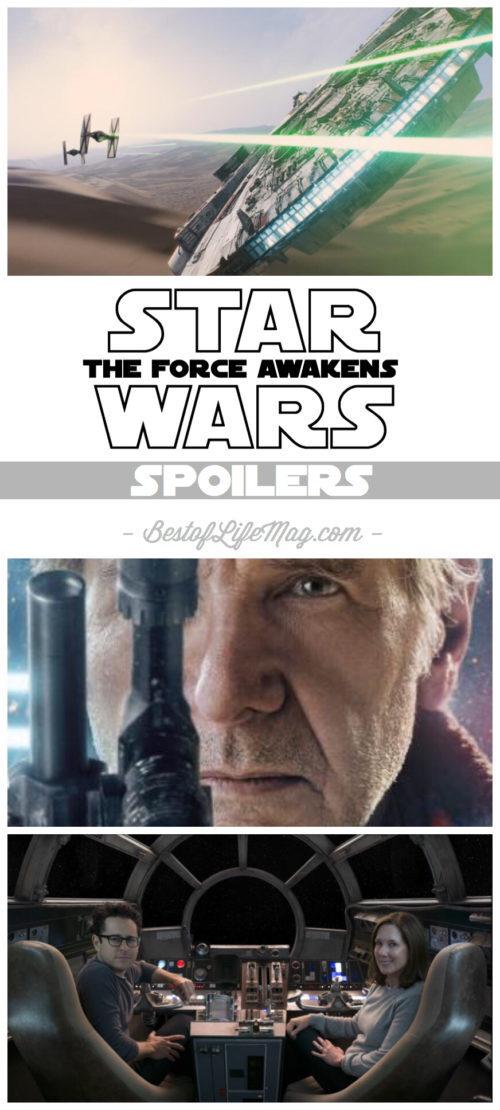 Star Wars The Force Awakens Spoilers