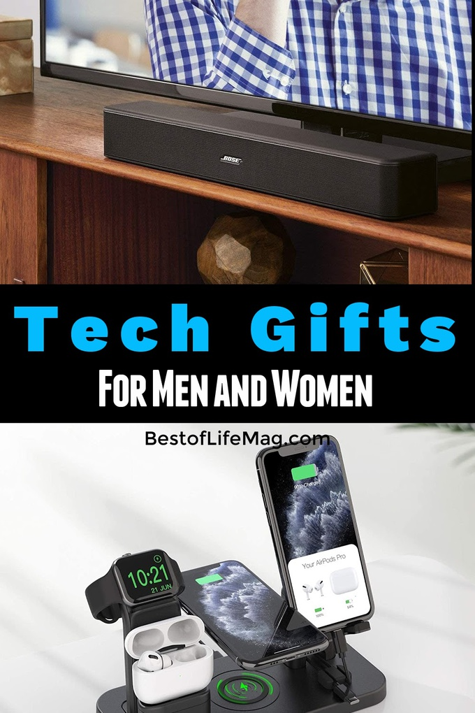Knowing the best tech gifts for men and women can help you make sure you gift the most up to date and desired tech products! Tech Gifts for Men | Tech Gifts for Women | Gifts for Dad | Gifts for Mom | Security Gifts | Mobile Gifts for Adults | Tech Gifts for Teens | Technology Shopping Guide #tech #gifts via @amybarseghian
