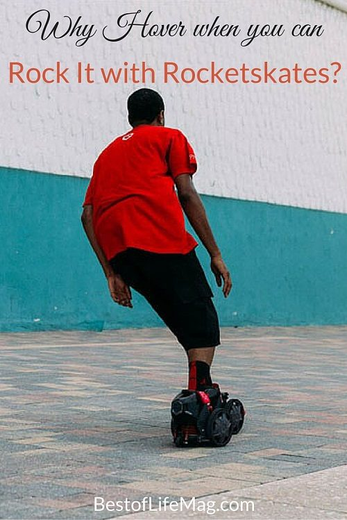 Why Hover When you can Rock It with Rocket Skates