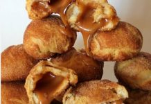 Caramel Crescent Snickerdoodles Super Bowl Party