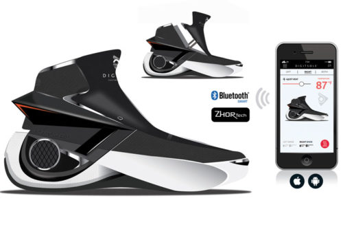 Digitsole Smart Shoe Spoil Yourself