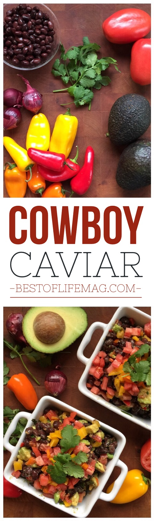 This Cowboy Caviar recipe is dairy free, easy to make, and so healthy! It can be eaten alone, on top of salads, or with chips and is an easy favorite!