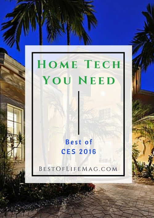 Home Tech You Need from CES 2016