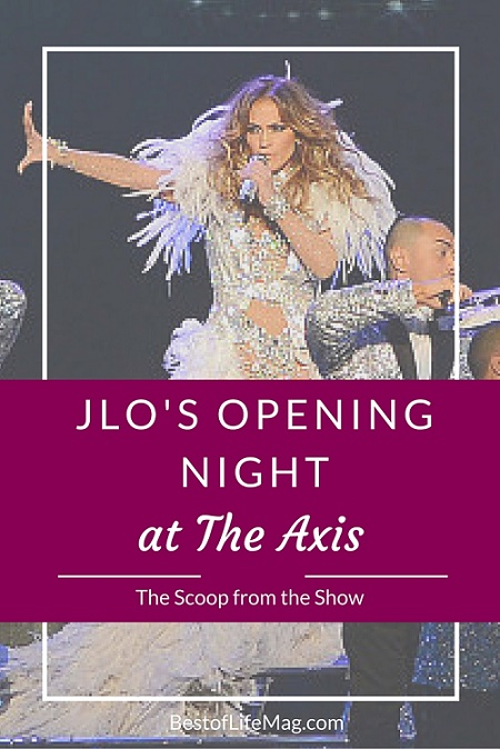 Jennifer Lopez Amazes During Opening Night at The Axis