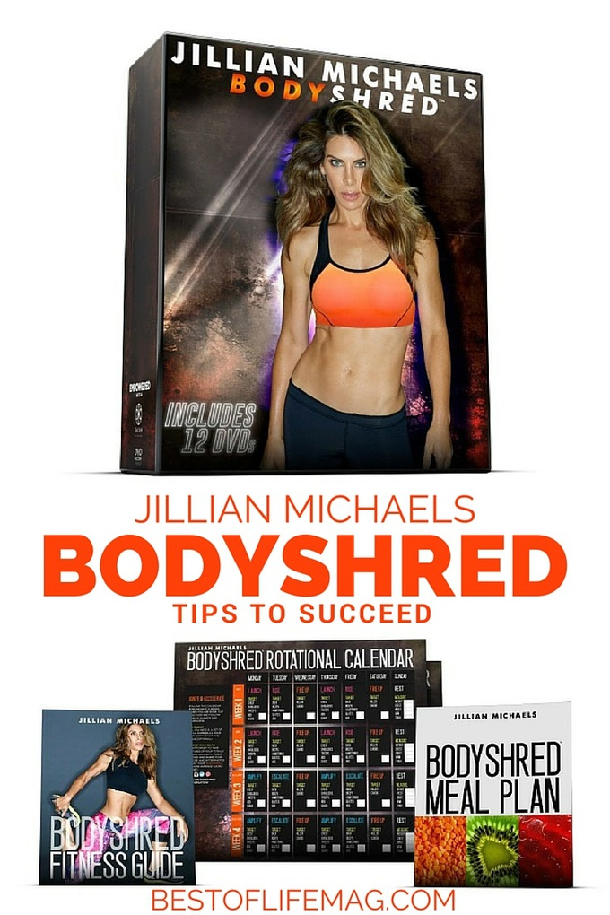 Jillian Michael's BODYSHRED is a tough workout that will definitely get you results if you follow these tips.  via @amybarseghian