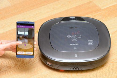 LG Cord Zero Hom Bot Home Tech