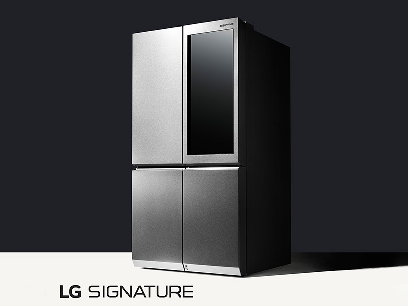 LG redefines luxury and style with our home appliances by introducing the LG Signature Series into our lives and our homes.