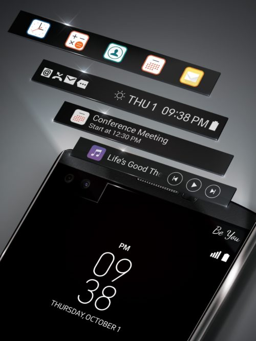 LG V10 Second Display