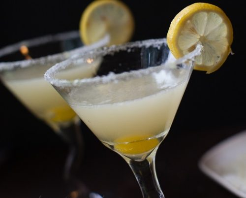 Perfect Lemon Drop Party Drinks