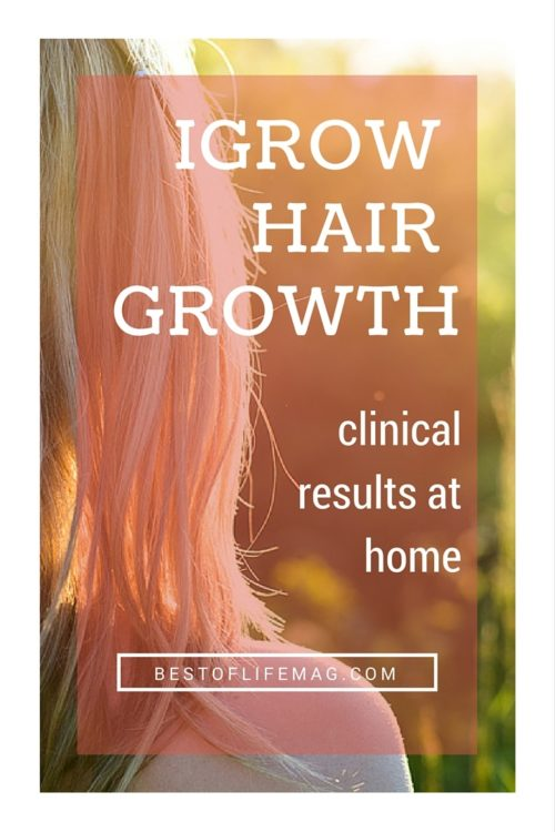 iGrow Hair Growth - Get Clinical Results at Home