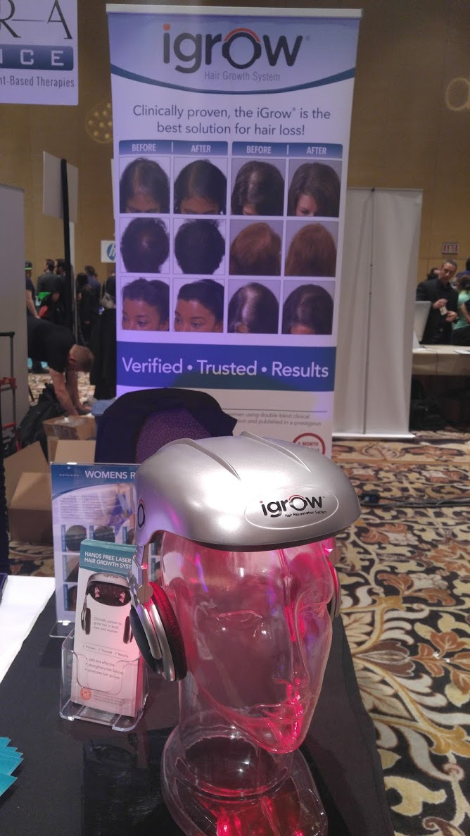 iGrow Hair Growth Provides Clinical Results at home