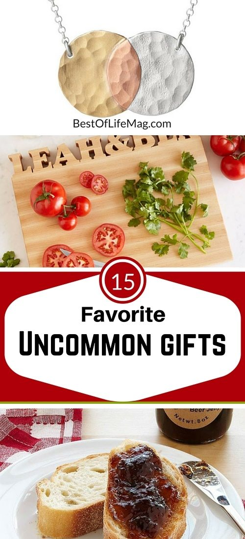 Uncommon Goods make good gifts all year long and are perfect for those hard to buy for friends.