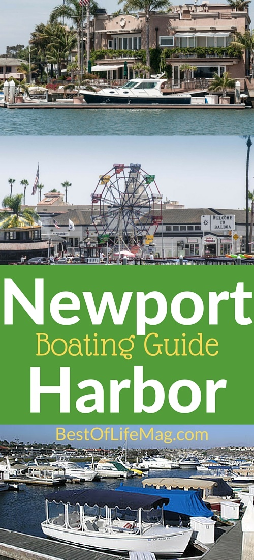 Boating Guide to Newport Harbor