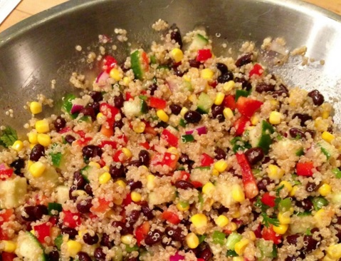 Dairy Free Lunch Quinoa