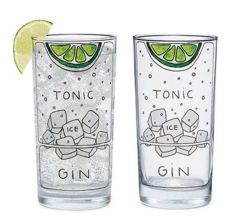 Gin and Tonic Glasses Uncommon Goods