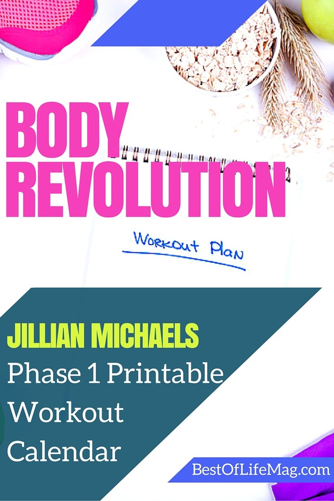 Using printables during your journey through Jillian Michaels Body Revolution is a great way to meet your fitness goals. via @amybarseghian