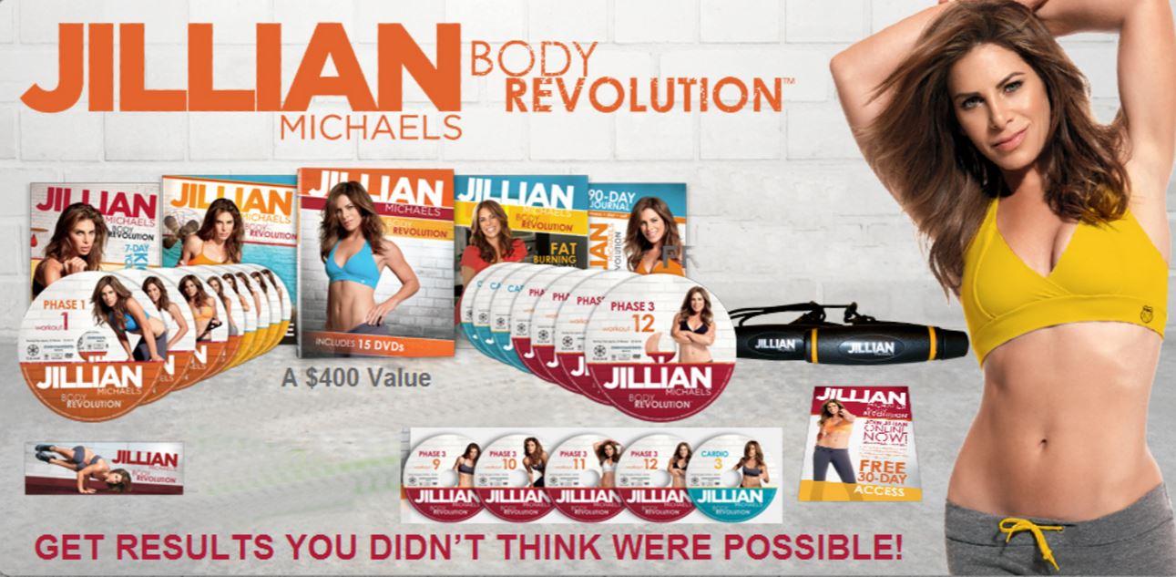 Jillian Michaels Body Revolution: 30 Day Results + Phase 2 ...