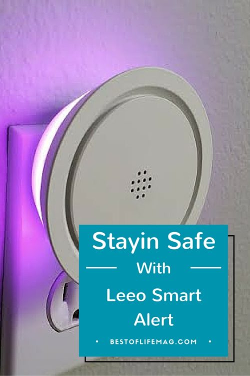 The Leeo Smart Alert is the perfect travel companion and alerts you when your fire or smoke alarm goes off while away from home.