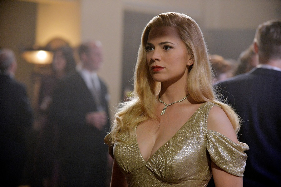 Marvel Movies in Order Agent Carter in a Dress