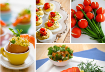 Easter Dinner and dessert are certainly to be enjoyed but so are these amazing and gorgeous Easter Appetizers! They add color to the table & taste amazing! Easter Recipes | Appetizer Recipes | Holiday Recipes | Best Easter Recipes | Easy Easter Recipes