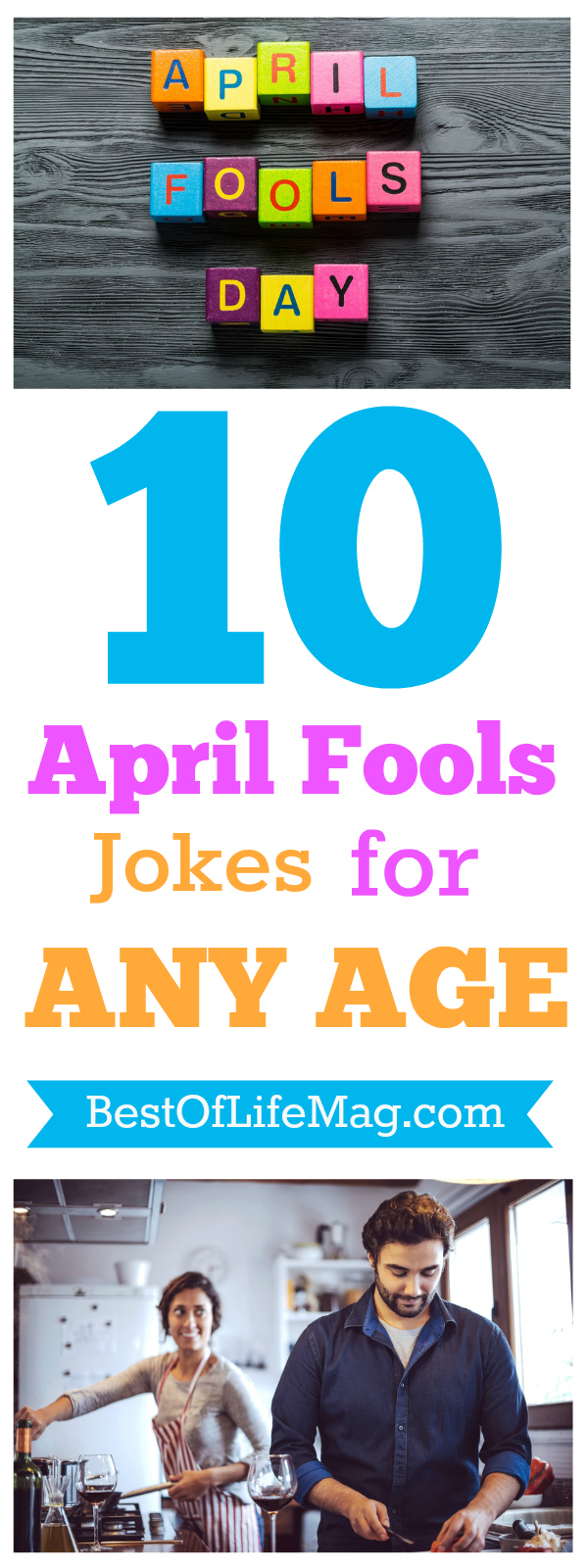 While April first is the day to get away with jokes and pranks, it's also the day when people of any age will be expecting them all. via @amybarseghian