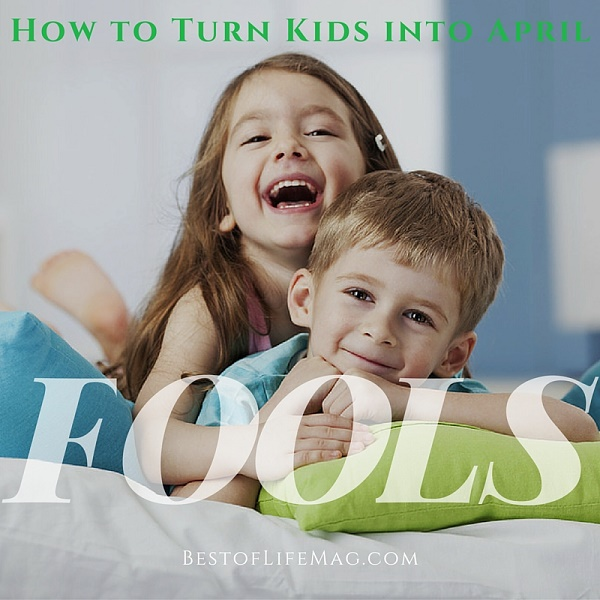 April Fools Jokes for Young Kids
