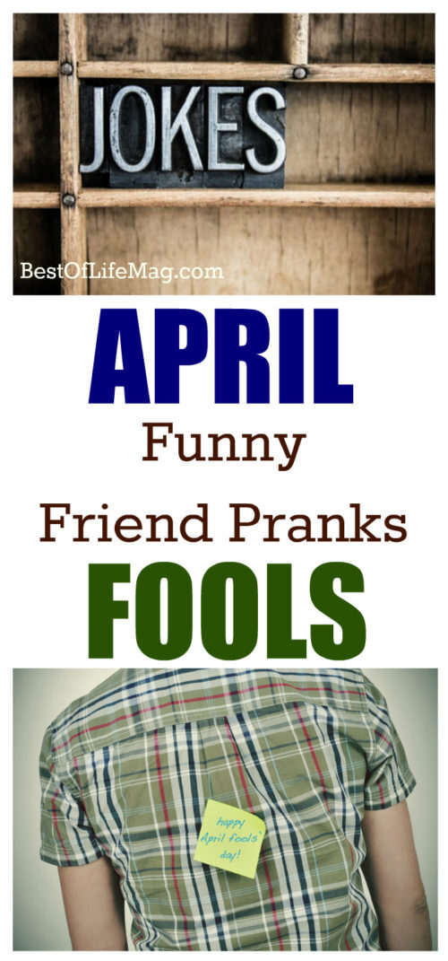 Using the right April fools prank ideas on your friends might make some enemies, but will bring the laughs as well. Here are some funny ones to keep the friendship alive!
