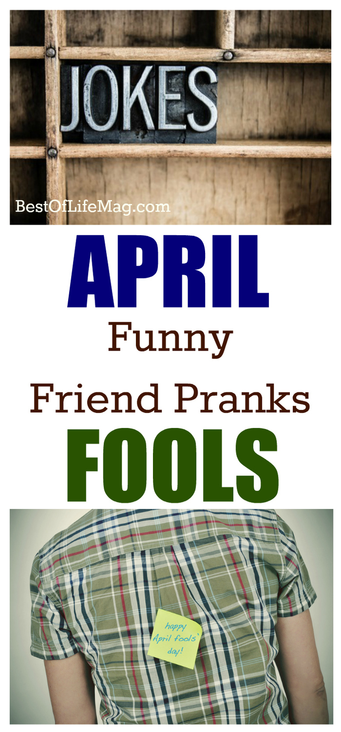 It's your job as a great friend to prank others hard enough that they just accept it and move on during April Fool's Day. via @amybarseghian